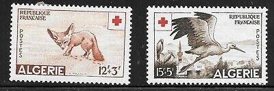 Algeria (1957) - Scott # B88 - B89,   MH
