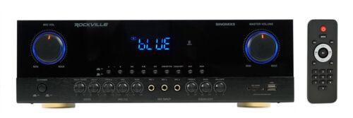 Rockville SingMix 3 3000 Watt Home Theater Receiver w/Blueto
