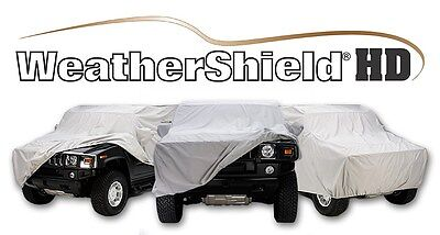 Covercraft Custom Car Covers - Weathershield HD - Indoor/Outdoor - Gray