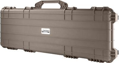 """53"""" Barska Loaded Gear Rifle Hard Case AX-500 Watertight Safe Gun Case FDE EARTH"""