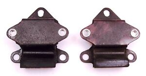 Mini Morris Clubman Leyland Moke Pair Engine Mounts with captive nuts NEW