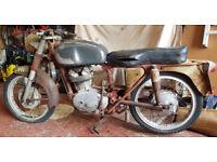 Ducati Bevel Narrowcase 175 -1962 Restoration Cafe Racer Project