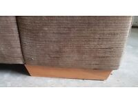 Harveys 2 and 3 Seater sofa. Mocha. Good Condition.