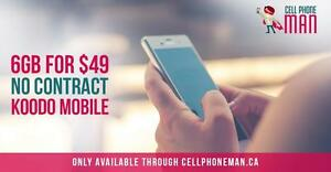 6gb LTE DATA for $49 - Plans by Tony x Cellphone Man
