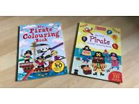 New: Pirates Colouring Book & Sticker Activity Book