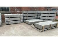 """•New• Reinforced Concrete Fencing Base Panels / Gravel Boards - 6x1 / 6x6"""""""