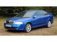 SKODA OCTAVIA 2.0 VRS 5d 168 BHP VRS Blue Metallic Paint (blue) 2007