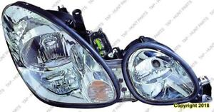 Head Lamppassenger Side Without Hid High Quality Lexus GS300 2001-2005