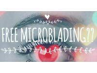 Want free Microblading?