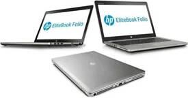 TOP RANGE HP FOLIO 9470M ULTRABOOK LAPTOP- I5 1.9GHZ- 12GB RAM- HD WEBCAM- BACKLIT KEYBOARD
