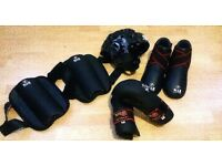 Adult Preloved M.A.R Martial Arts protective kit