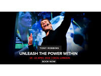 Tony Robbins UPW London (April 2018) - 1 x Gold Ticket at £850