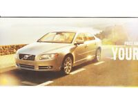 volvo s80 d5 automatic2007 excellant gold alloy wheels mot