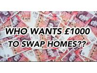 Home Swap for £1000