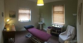 Therapy/treatment room to rent Cardiff.
