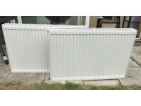 2 double panel radiators - 900x600