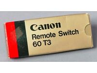 CANON Remote Switch 60 T3 with box. Excellent.