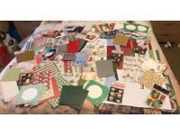 Christmas Card Making Items Job Lot Brand New 650+ items