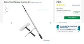 brand new Better Home Window Cleaning pole Set