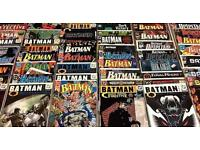 Looking for comics marvel dc indie