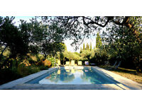 Beautiful property in Saint Rémy de Provence, 9 persons with swimming pool