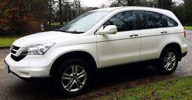 Honda CR-V 2010 SUV Manual 2.2 Diesel i-dtec Immaculate, MOT Jan 2018, Service History, Valeted