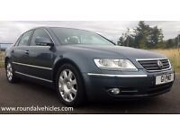 2004 VW Phaeton 3.2 V6 auto saloon 103k, history, 12 mths mot 12 mths warr BEAUTIFUL BIG LUXURY CAR!