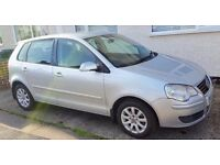 VW Polo 1.4 2005 **BRAND NEW FRONT TYRES** IDEAL FIRST CAR***LONG MOT***