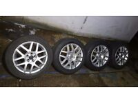 volkswagen golf mk4 bbs montreal 2 alloy wheels