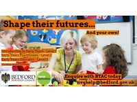 Early Years Training Courses in Bedford Borough - *Funding Available