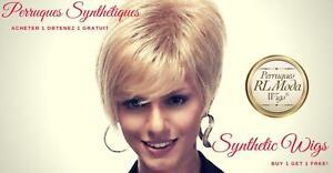 Perruques Synthetiques Achetez 1 et Recevez 1 Gratuit - Synthetic Wigs Buy 1 Get 1 Free
