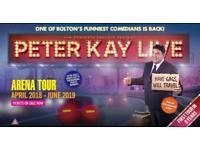 X2 PETER KAY VIP TICKETS