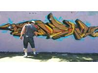 Graffiti workshops ,live painting and more get in touch !