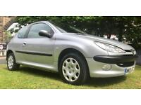 1 OWNER 86000 MILES 2005 PEUGEOT 206 SE 1.4 PETROL 90 BHP GOOD DRIVE 6 MONTHS WARRANTY
