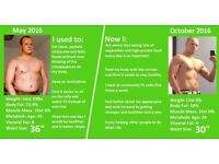 Steve in Sandgate offering advice on Body Fat Loss, Toning Up, Weight Loss, Muscle Mass & More