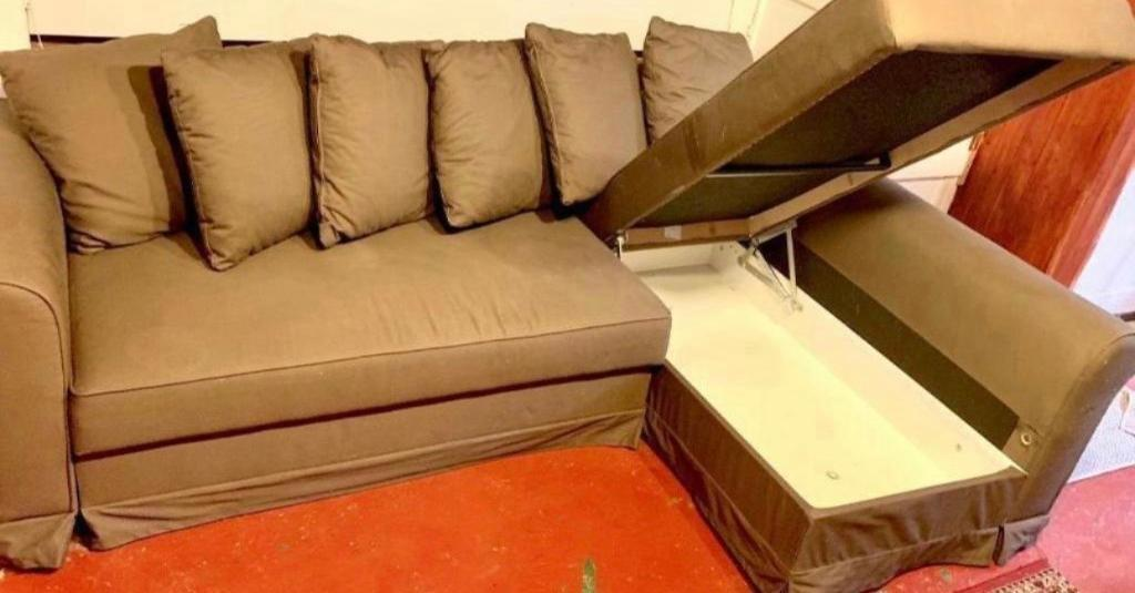 Phenomenal Ikea Corner Sofa Bed Brown Colour With Storage Ikea Moheda Good Condition Stain Free In Old Street London Gumtree Inzonedesignstudio Interior Chair Design Inzonedesignstudiocom