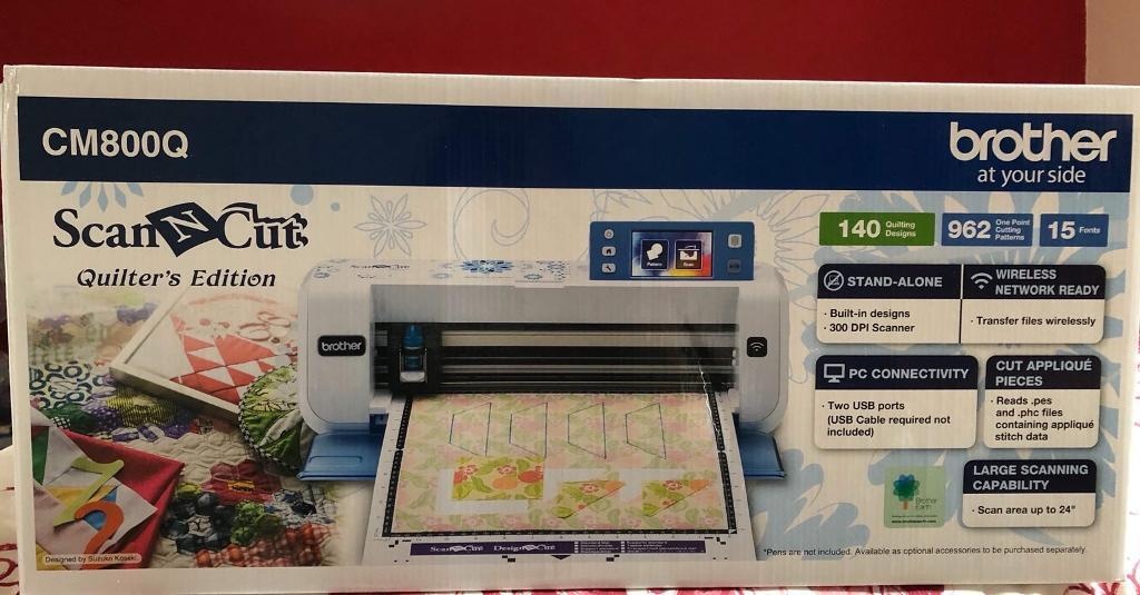 Brothers scan and cut quilters edition in ashford kent gumtree