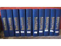 Boat Fishing Magazines in Binders – 10 Binders (120 magazines)