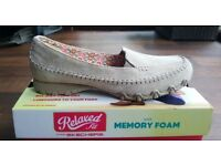 Skechers memory foam loafers. Never worn