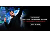 UNLEASH THE POWER WITHIN DISCOUNTED TICKET for NEXT weekend @Excel London.