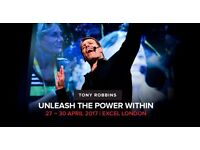 VIP Ticket - Tony Robbins UPW Unleash The Power Within 2017 April London