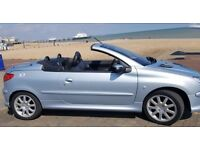 Peugeot 206 CC. Low Mileage