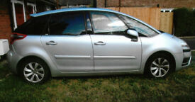 For sale Citroen C4 Exclusive silver, semi-automatic MOT July 2019