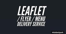 Looking for work delivering leaflets