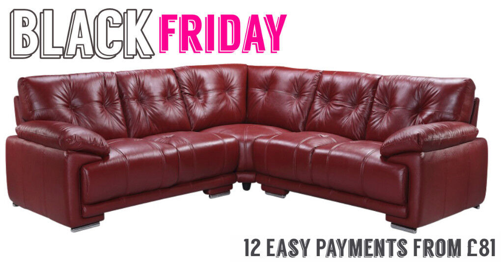 Super Brand New Cheap Large Red Leather Corner Sofa 5 Seater Black Friday Sofa Sales Easy Pay From 81 In Upton Cheshire Gumtree Gamerscity Chair Design For Home Gamerscityorg