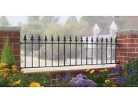 [NEW] Steel Garden Fence