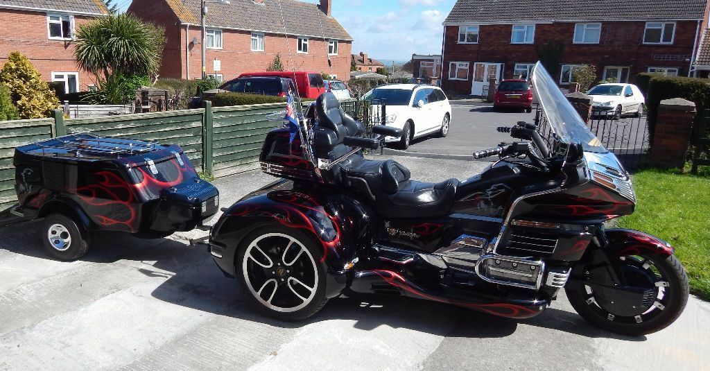 Honda Goldwing Gl 1500 Trike One Off Special In Bridgwater