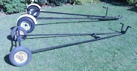 Road Trailer and Launch Trolley for Boat Dinghy or Tender