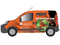 MBR Recycling Ltd!!! Scrap my Car Manchester!!! Best prices Paid for your old Vehicles!!!