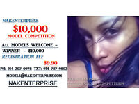 $10,000 Online Model Competition!